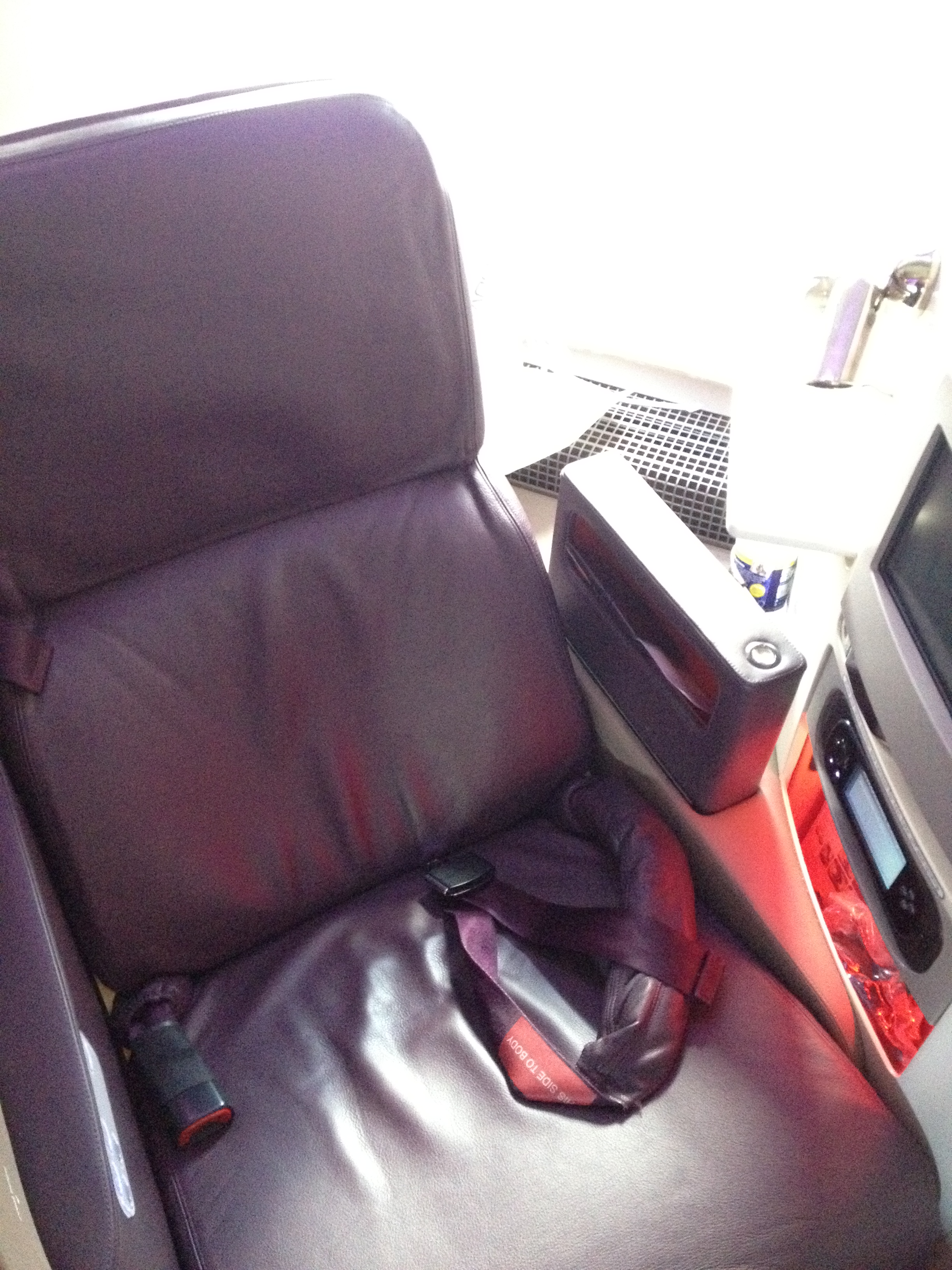 TRIP REPORT: Virgin Atlantic Upper Class | TheDesignAir