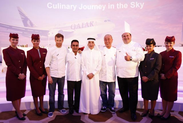 Qatar Airways Introduce Celebrity Chef Menus As They Expand Their ...