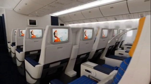 Aeroflot Launch New 777 Interiors Thedesignair