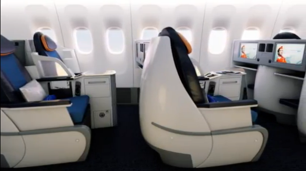 Aeroflot Launch New 777 Interiors Thedesignair