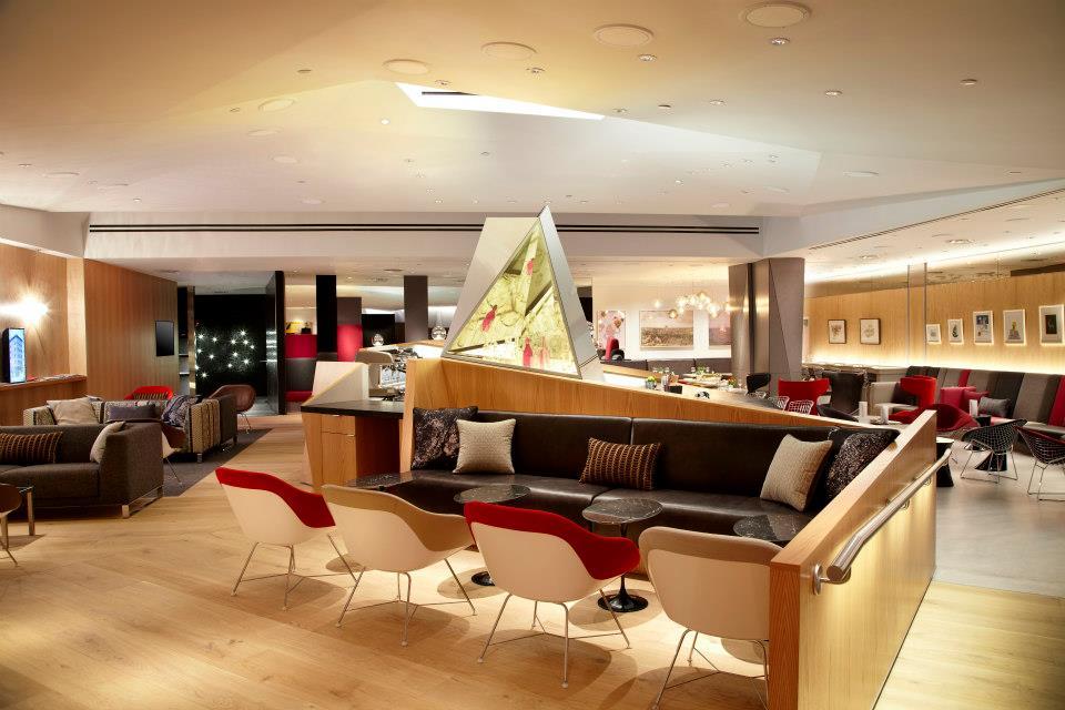 Pleasant Virgin Atlantic Launch Design Led New Newark Clubhouse Thedesignair Inspirational Interior Design Netriciaus