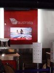 Combined Virgin Australia and Virgin America Check In Area