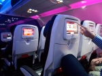 Mood Lighting, Clean Seats, Video Entertainment At The Gate