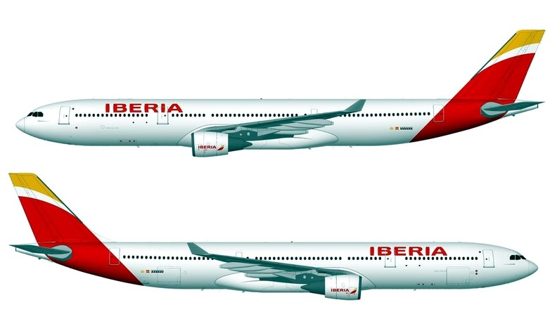 Iberia Airlines New Livery of The New Iberia Livery