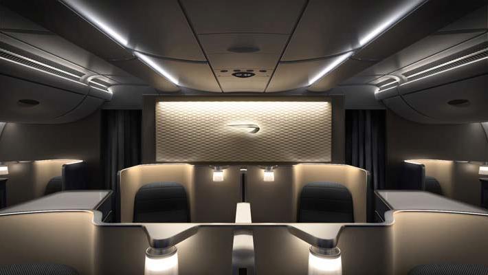 BA A380 First Class
