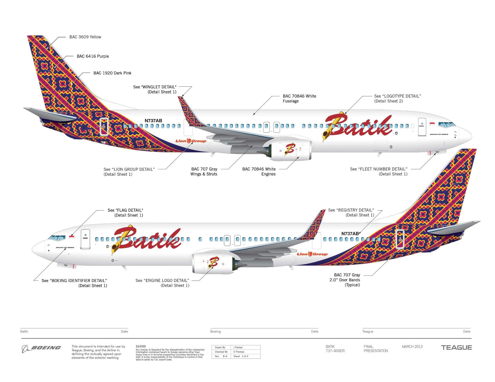 Taking A Look At Batik Air S Brand New Look Thedesignair