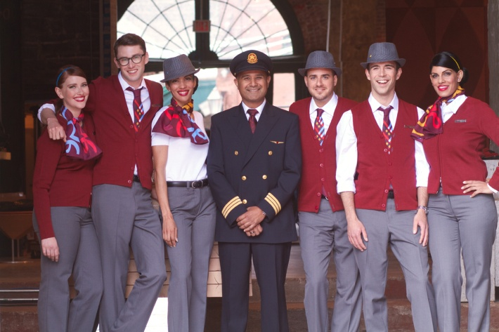 Air Canada rouge_Uniform_Group