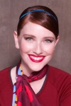 Air Canada rouge_Uniform_Women's Beauty Look