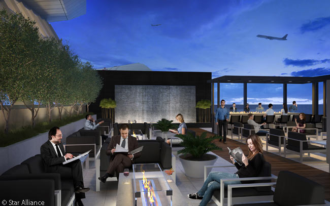 Air new zealand s new lax lounge sneak peek thedesignair for A star is born salon