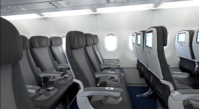 Jetblue Sneak Peek Their New A321 Interior With Private