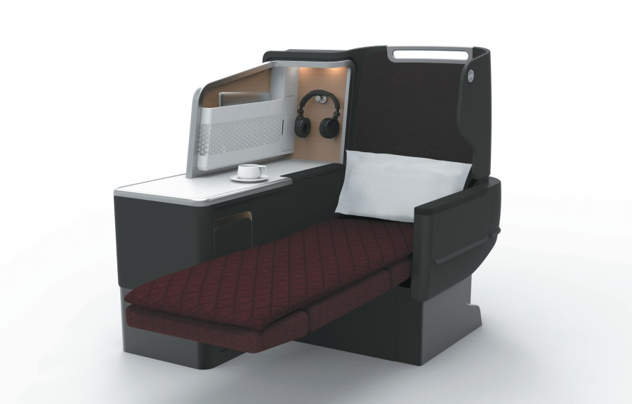 Qantas A330 preview - Business Suite2 (artist impression)