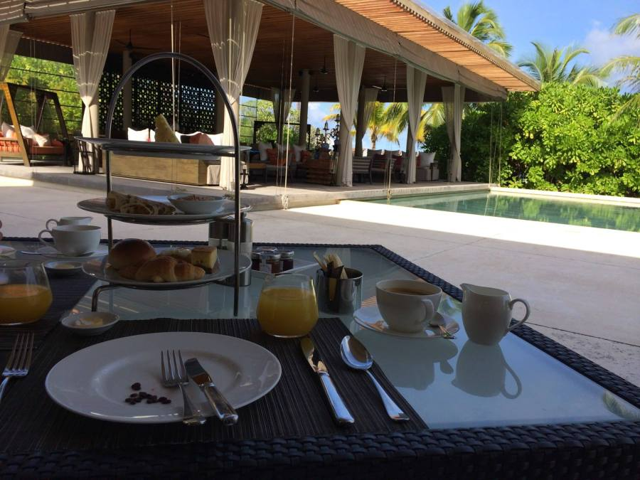 Breakfast at Park Hyatt Hadahaa