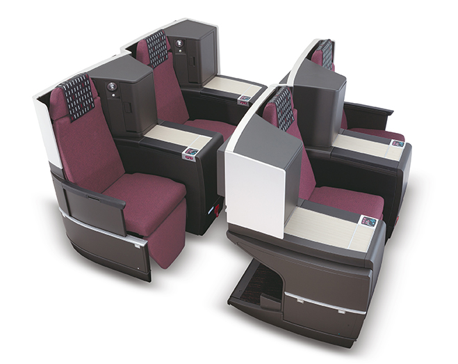 JapanAirlines767business class1