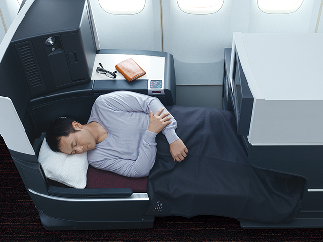 JapanAirlines767business class3