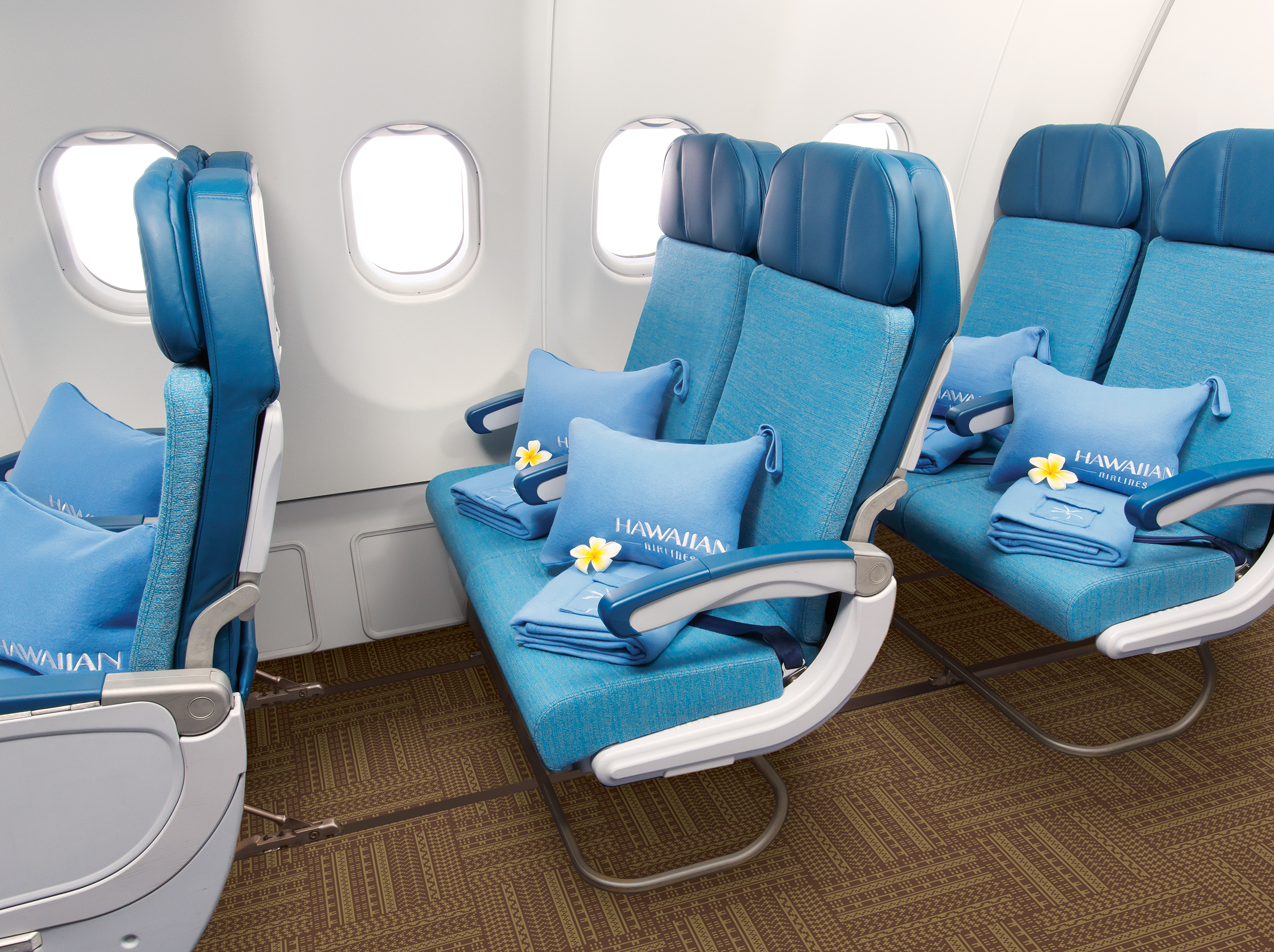 Hawaiian Airlines Announce Extra fort Economy Seating