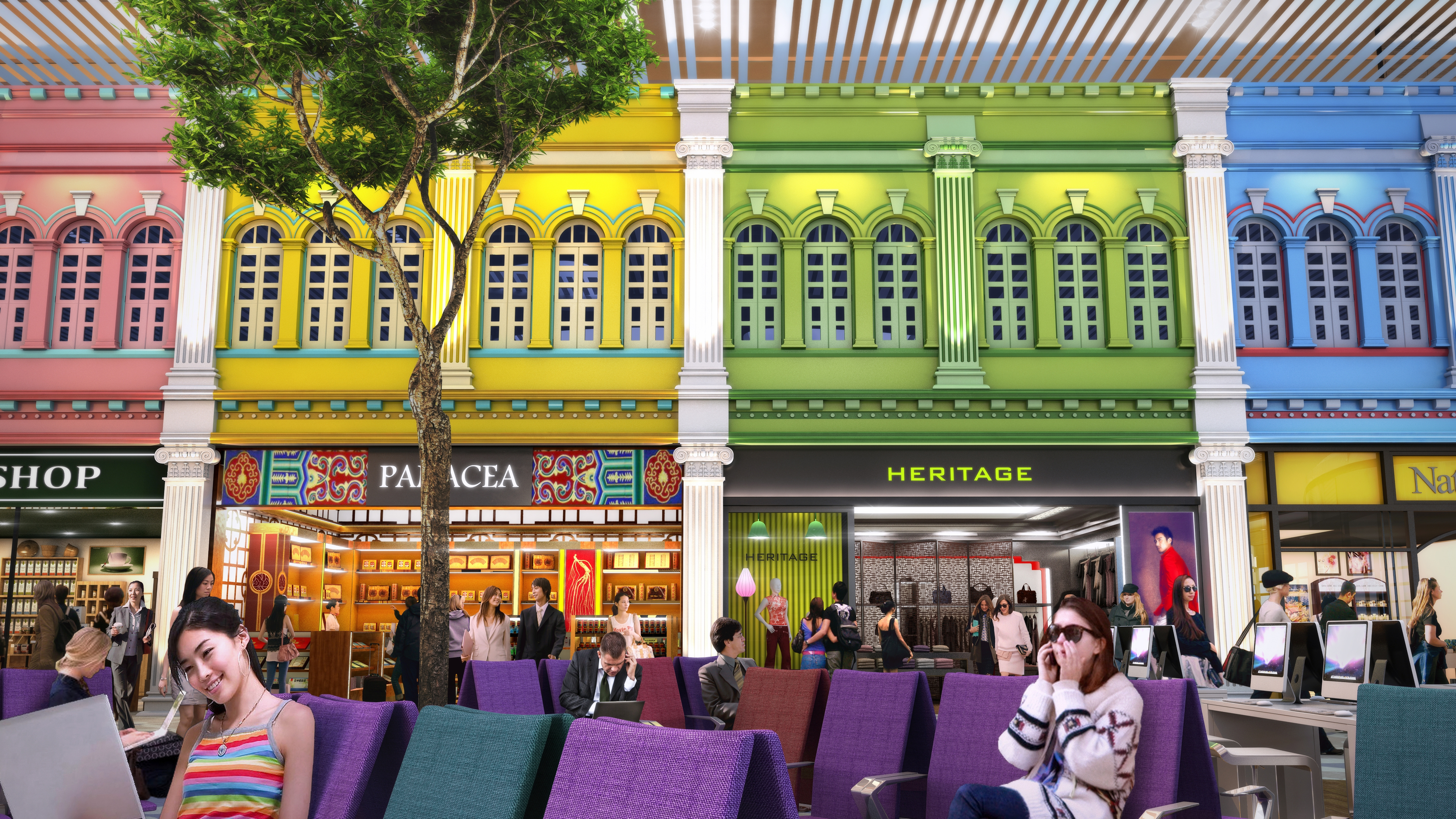 Singapore Changi Airport Showcases Designs for New Terminal 4 | TheDesignAir