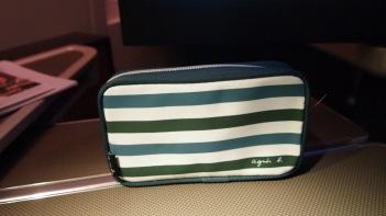 Agnes B amenity kit bag