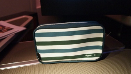 Agnes B amenity kit bag