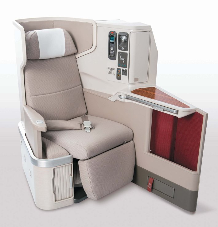 dragonair first class seat