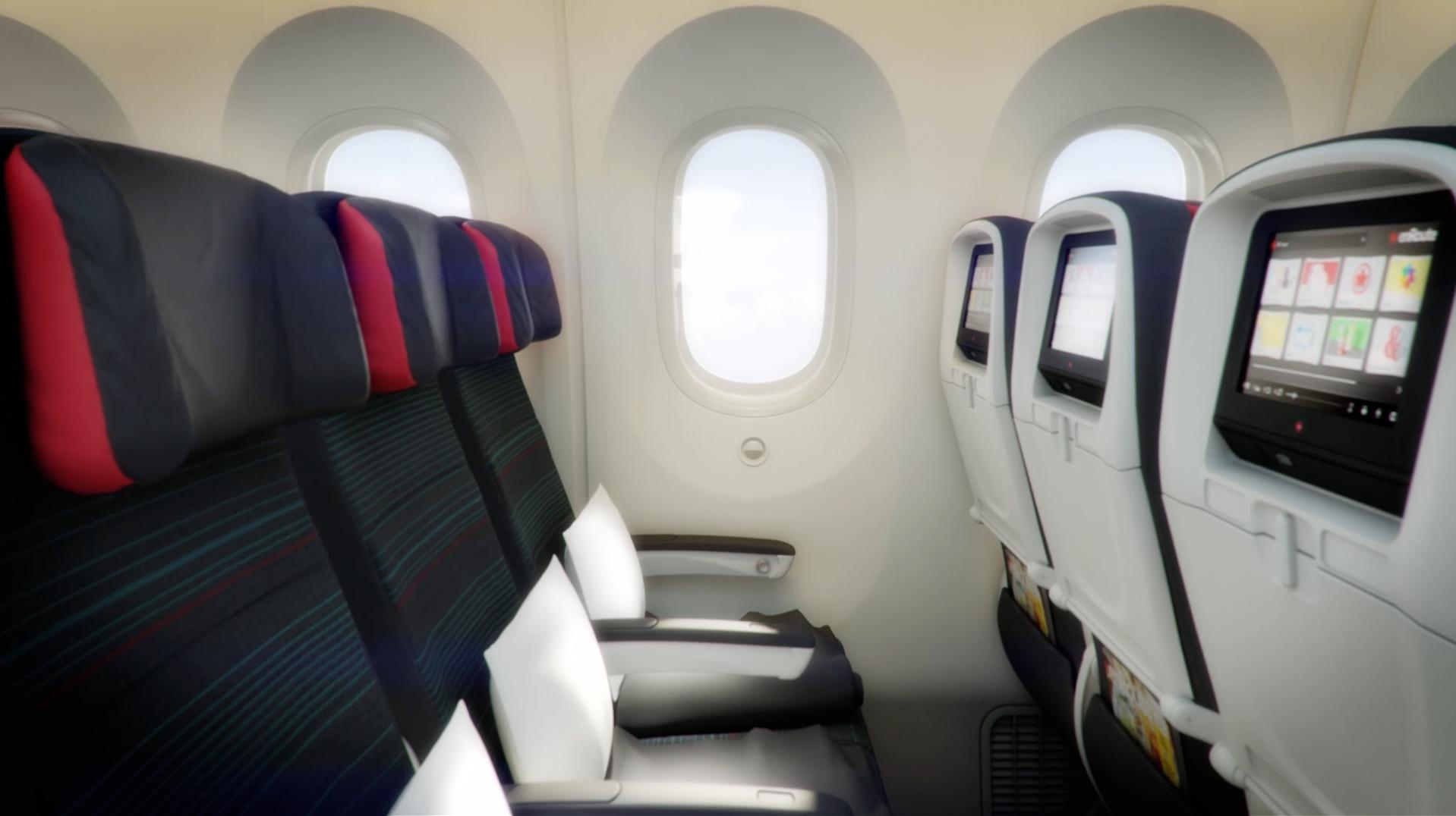 Air Canada Showcase New 787 Interior