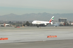 Emirates' Longest A380 Flight Touches Down in Los Angeles