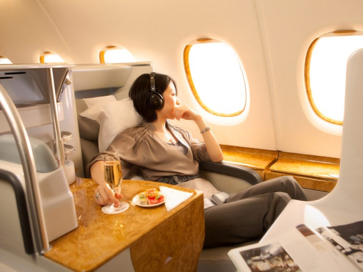 Lie Flat-bed for Emirates Business