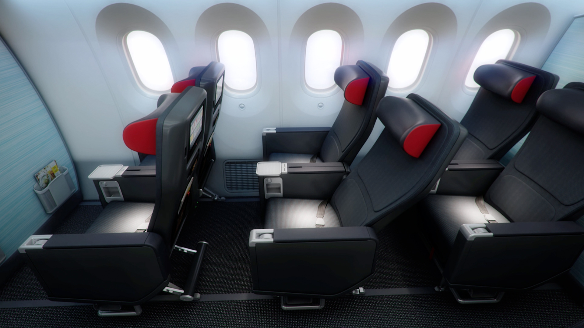 Air canada showcase new 787 interior thedesignair for Interieur avion air canada