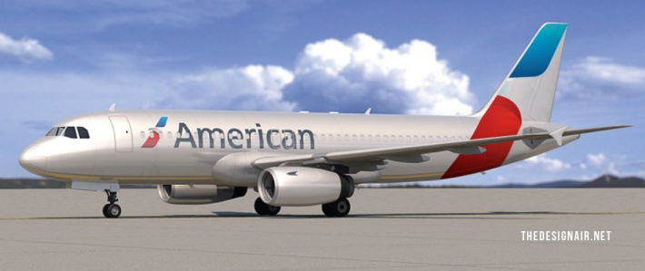 thedesignair american airlines tail 1