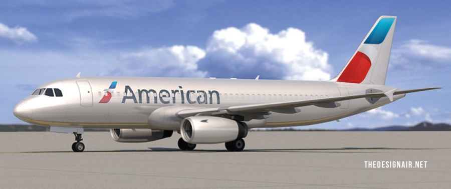 thedesignair american airlines tail 4