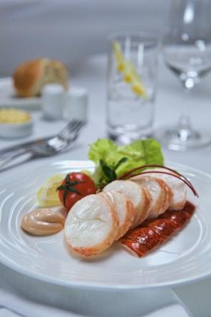 Emirates Appetiser, Lobster Gourmand