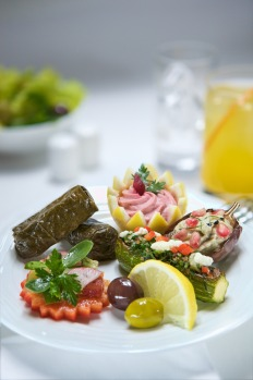 Emirates Business Class, Arabian Mezze