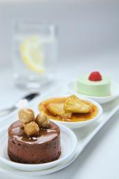 Emirates Dessert Trio