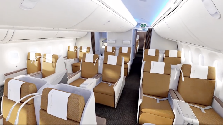Kenya Airways 787 Business Class 3