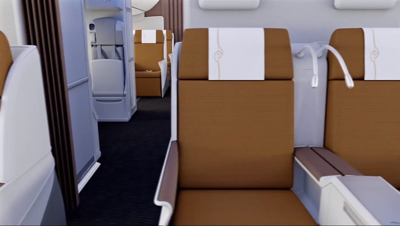Kenya Airways 787 Business Class 4 Thedesignair