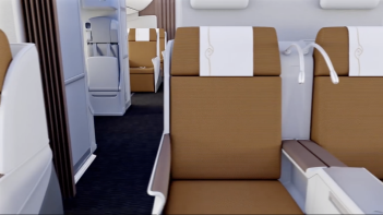 Kenya Airways 787 Business Class 4