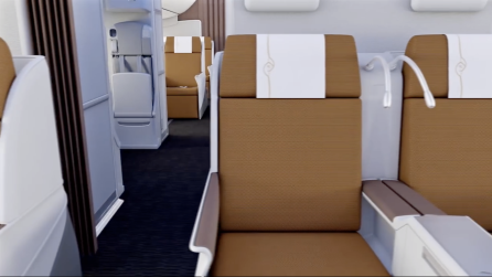 Kenya Airways 787 Business Class 4
