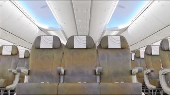 Kenya Airways 787 Economy Class 2