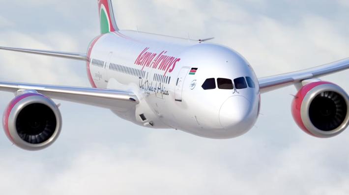 Kenya Airways 787 Exterior 2