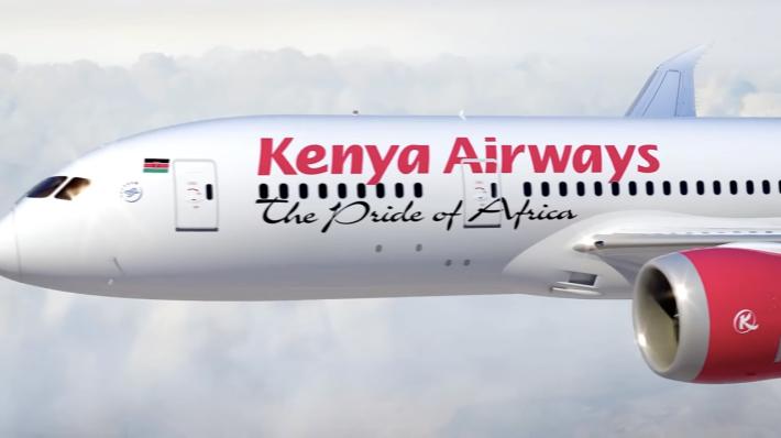 Kenya Airways 787 Exterior