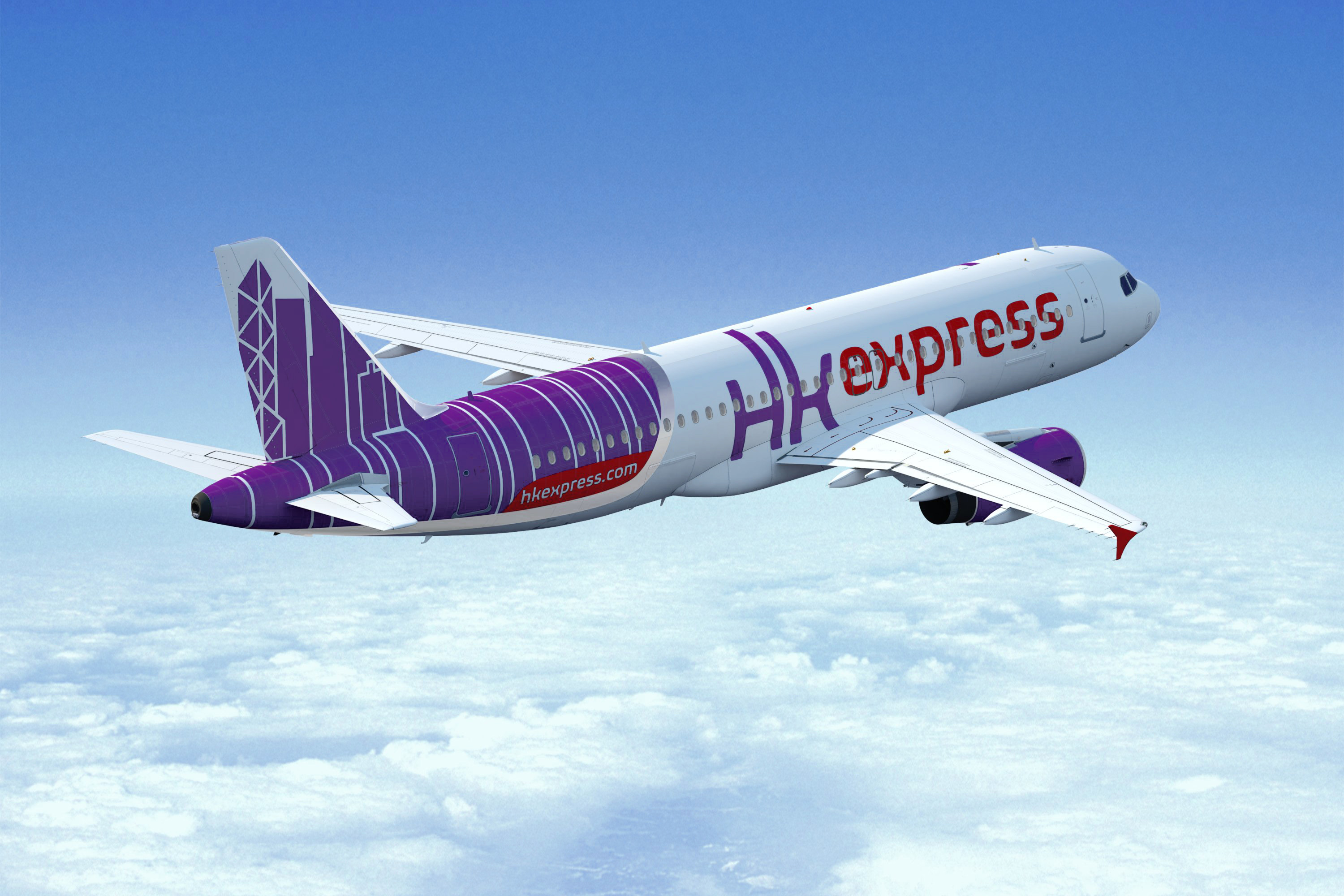 Airline Hong Kong Express Airways (Hong Kong Express Airways). Official sayt.2