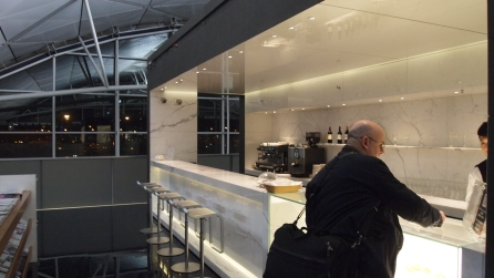 Cathay Pacific's The Wing Coffee Loft