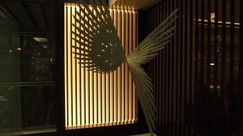 Cathay Pacific Bridge Lounge Art Works
