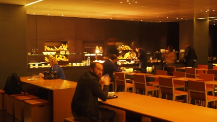 Cathay Pacific Bridge Lounge 'The Bakery'