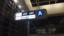 Checking in at LAX