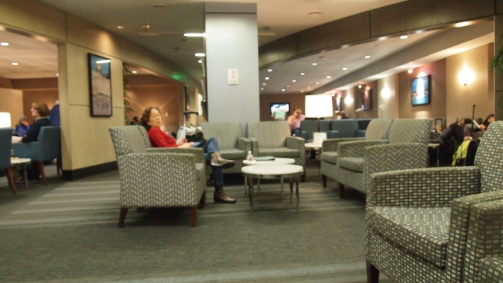 The International Lounge at TBIT