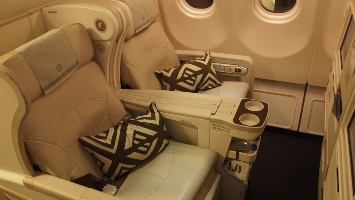 The Fiji Airways Business Class Seat