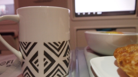 The Masi design on the mug