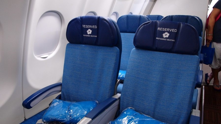 Hawaiian Airlines New A330 cabin 012