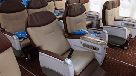 Hawaiian Airlines New A330 cabin 002