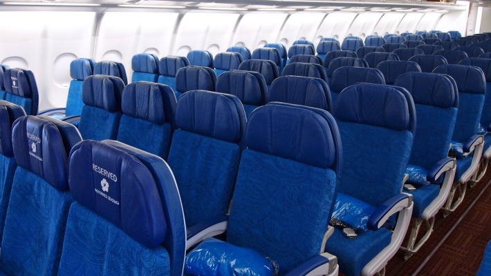Hawaiian Airlines New A330 cabin 006